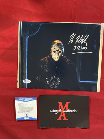 HODDER_427 - 8x10 Photo Autographed By Kane Hodder