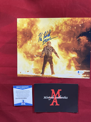 HODDER_431 - 8x10 Photo Autographed By Kane Hodder
