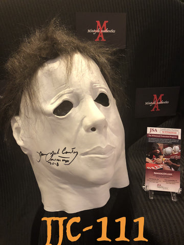 JJC_111 - Michael Myers Mask Autographed By James Jude Courtney