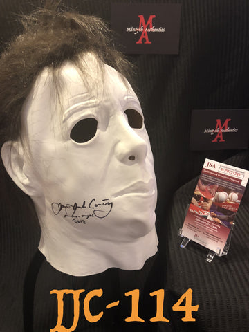 JJC_114 - Michael Myers Mask Autographed By James Jude Courtney
