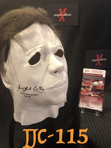 JJC_115 - Michael Myers Mask Autographed By James Jude Courtney