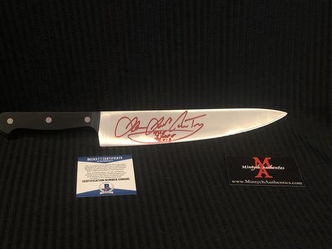 "JJC_155 - High Quality 10"" Knife Autographed By James Jude Courtney"