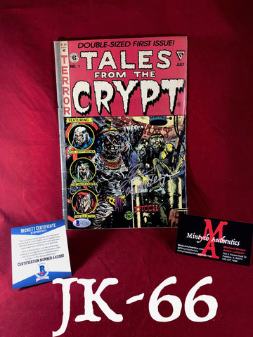 JK_66 - Tales From The Crypt Comic Book Autographed By John Kassir