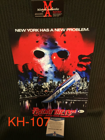 KH_107 - 11x14 Photo Autographed By Kane Hodder