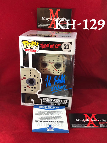 KH_129 - Jason Voorhees Funko Pop!  Autographed By Kane Hodder