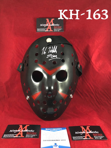 KH_163 - Jason Mask Autographed By Kane Hodder