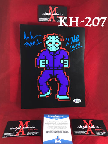KH_207 - 8x10 Photo Autographed By Kane Hodder