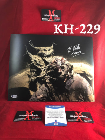 KH_229 - 11x14 Photo Autographed By Kane Hodder