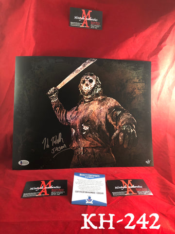 KH_242 - 11x14 Photo Autographed By Kane Hodder