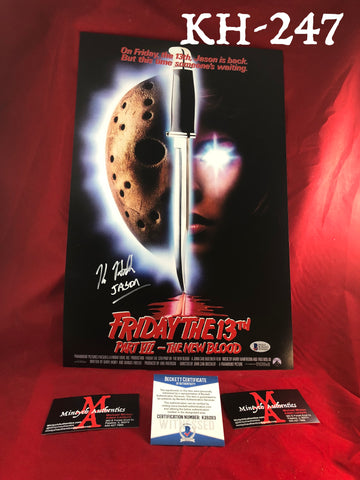 KH_247 - 11x17 Photo Autographed By Kane Hodder