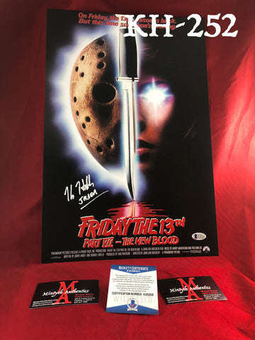 KH_252 - 12x18 Photo Autographed By Kane Hodder