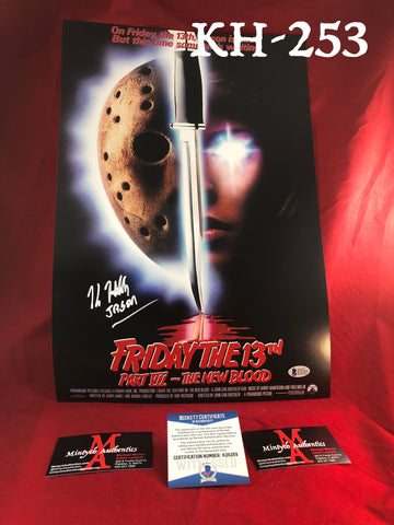 KH_253 - 12x18 Photo Autographed By Kane Hodder