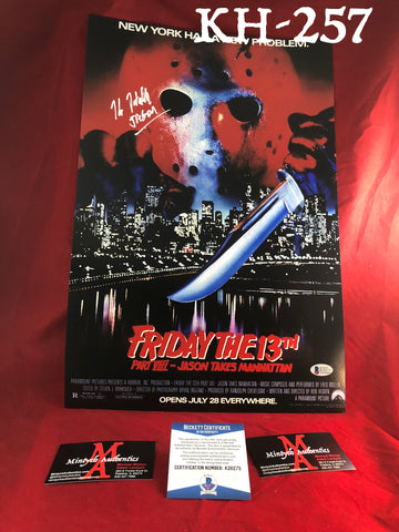 KH_257 - 12x18 Photo Autographed By Kane Hodder