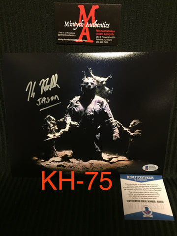 KH_75 - 8x10 Photo Autographed By Kane Hodder