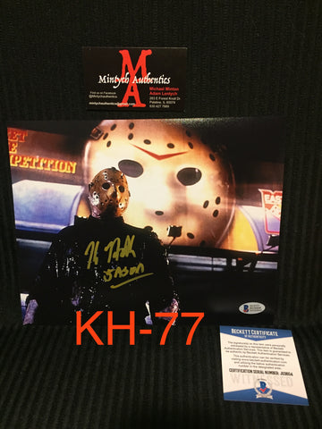 KH_77 - 8x10 Photo Autographed By Kane Hodder