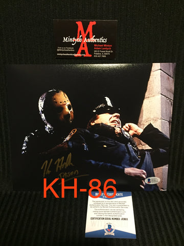 KH_86 - 8x10 Photo Autographed By Kane Hodder