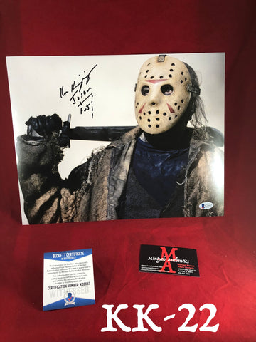 KK_22 -11x14 Photo Autographed By Ken Kirzinger