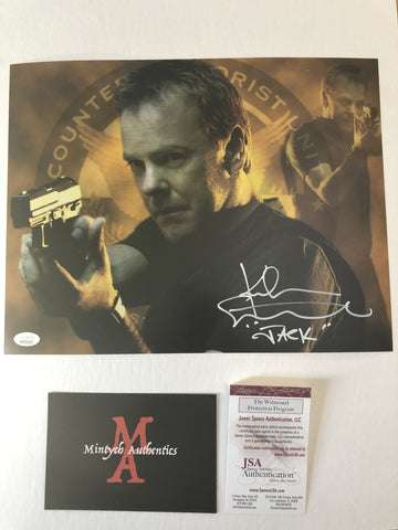 KS_21 - 11x14 Photo Autographed By Kiefer Sutherland