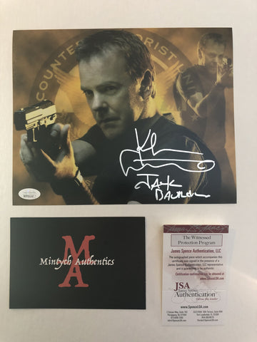 KS_39 - 8x10 Photo Autographed By Kiefer Sutherland
