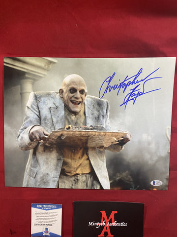 LLOYD_288 - 11x14 Photo Autographed By Christopher Lloyd