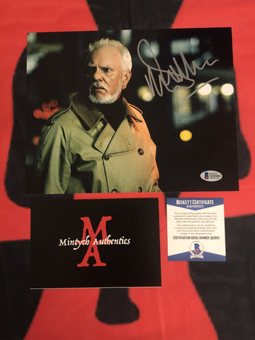 MALCOLM_031 - 8x10 Photo Autographed By Malcolm McDowell