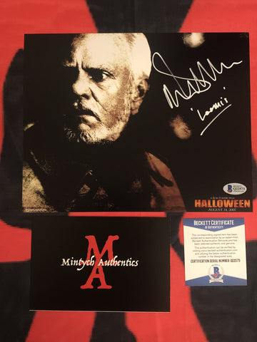 MALCOLM_033 - 8x10 Photo Autographed By Malcolm McDowell