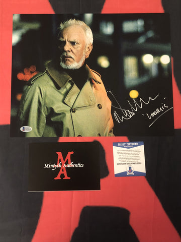 MALCOLM_066 - 11x14 Photo Autographed By Malcolm McDowell