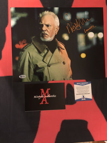MALCOLM_068 - 11x14 Photo Autographed By Malcolm McDowell