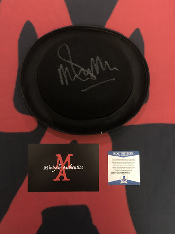 MALCOLM_104 - Alex Derby Hat Prop Autographed By Malcolm McDowell