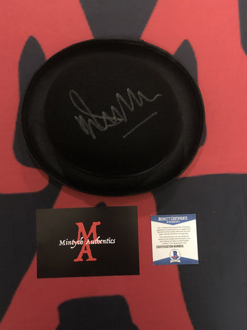 MALCOLM_106 - Alex Derby Hat Prop Autographed By Malcolm McDowell