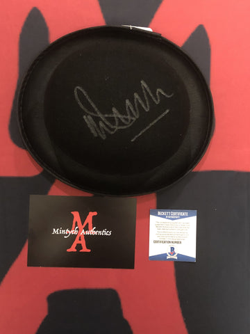 MALCOLM_108 - Alex Derby Hat Prop Autographed By Malcolm McDowell