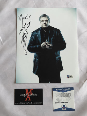 MEAT_73 - 8x10 Photo Autographed By Meatloaf