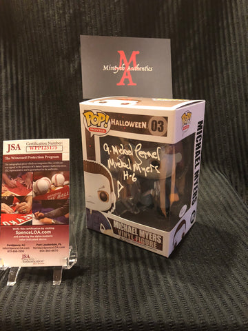 ML_30 - Michael Myers Funko Pop! Autographed By Michael Lerner