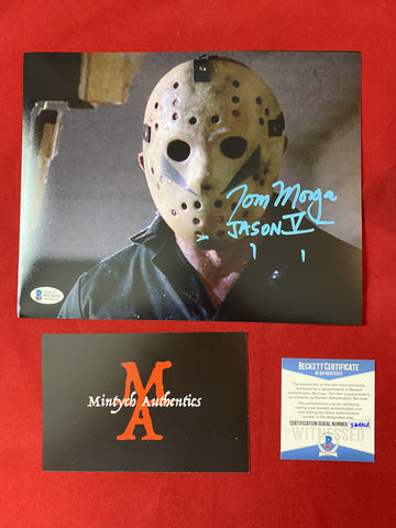 MORGA_198 - 8x10 Photo Autographed By Tom Morga