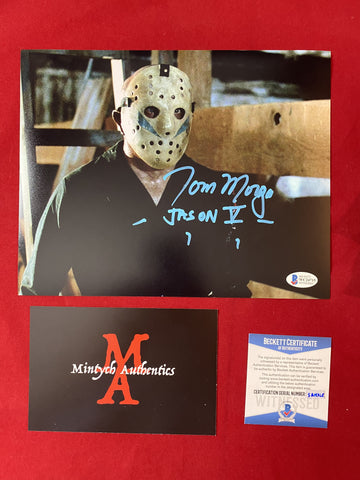 MORGA_202 - 8x10 Photo Autographed By Tom Morga