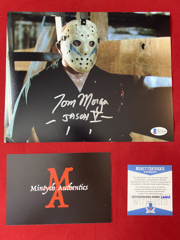 MORGA_206 - 8x10 Photo Autographed By Tom Morga