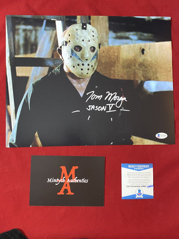 MORGA_262 - 11x14 Photo Autographed By Tom Morga