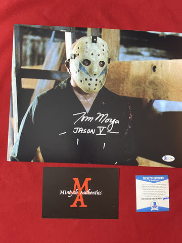 MORGA_263 - 11x14 Photo Autographed By Tom Morga