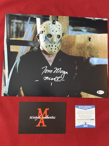 MORGA_265 - 11x14 Photo Autographed By Tom Morga