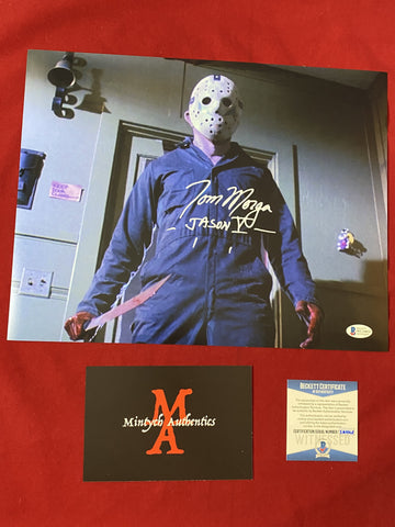 MORGA_266 - 11x14 Photo Autographed By Tom Morga