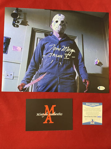 MORGA_267 - 11x14 Photo Autographed By Tom Morga