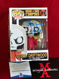 MOSELEY_091 - Otis Driftwood Custom Funko Pop! Autographed By Bill Moseley