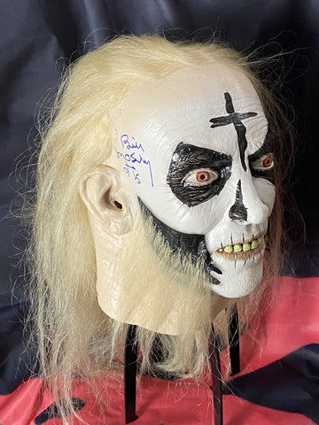 MOSELEY_108 - Otis Trick Or Treat Studios  Mask Autographed By Bill Moseley