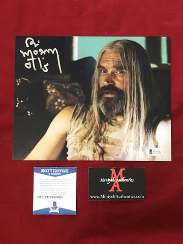 MOSELEY_140 - 8x10 Photo Autographed By Bill Moseley