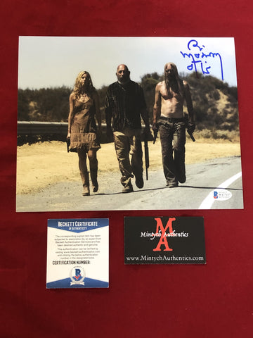 MOSELEY_161 - 8x10 Photo Autographed By Bill Moseley