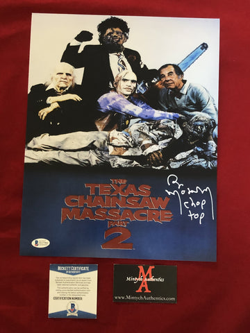 MOSELEY_182 - 11x14 Photo Autographed By Bill Moseley