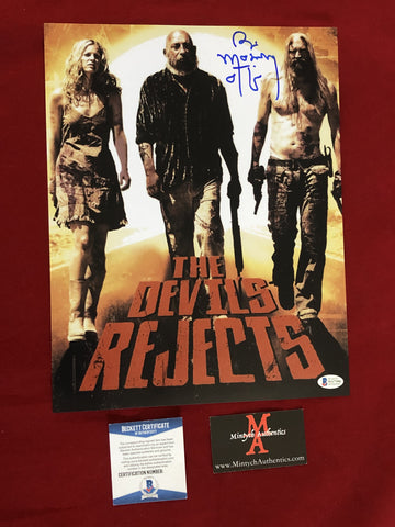 MOSELEY_203 - 11x14 Photo Autographed By Bill Moseley
