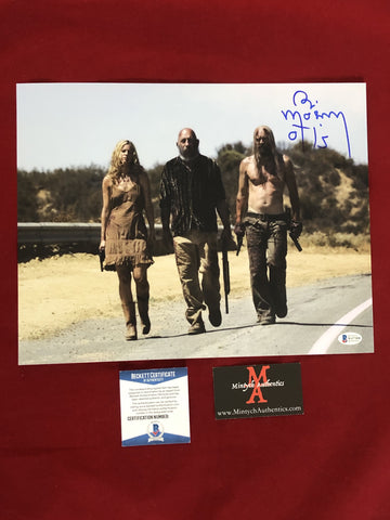 MOSELEY_207 - 11x14 Photo Autographed By Bill Moseley