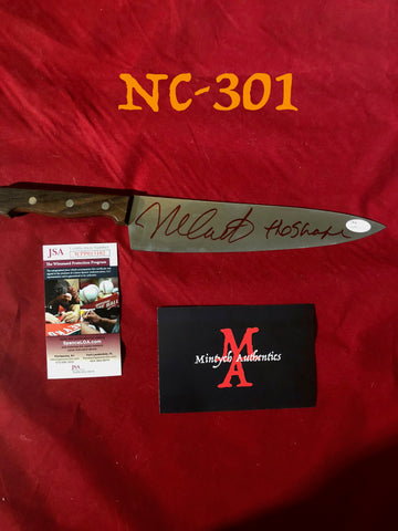 "NC_301 - 10"" Knife Autographed By Nick Castle"