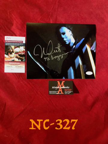 NC_327 - 8x10 Photo Autographed By Nick Castle